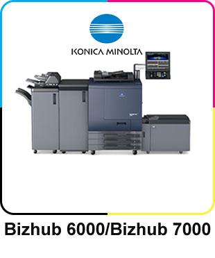 Bizhub 6000/7000 Image